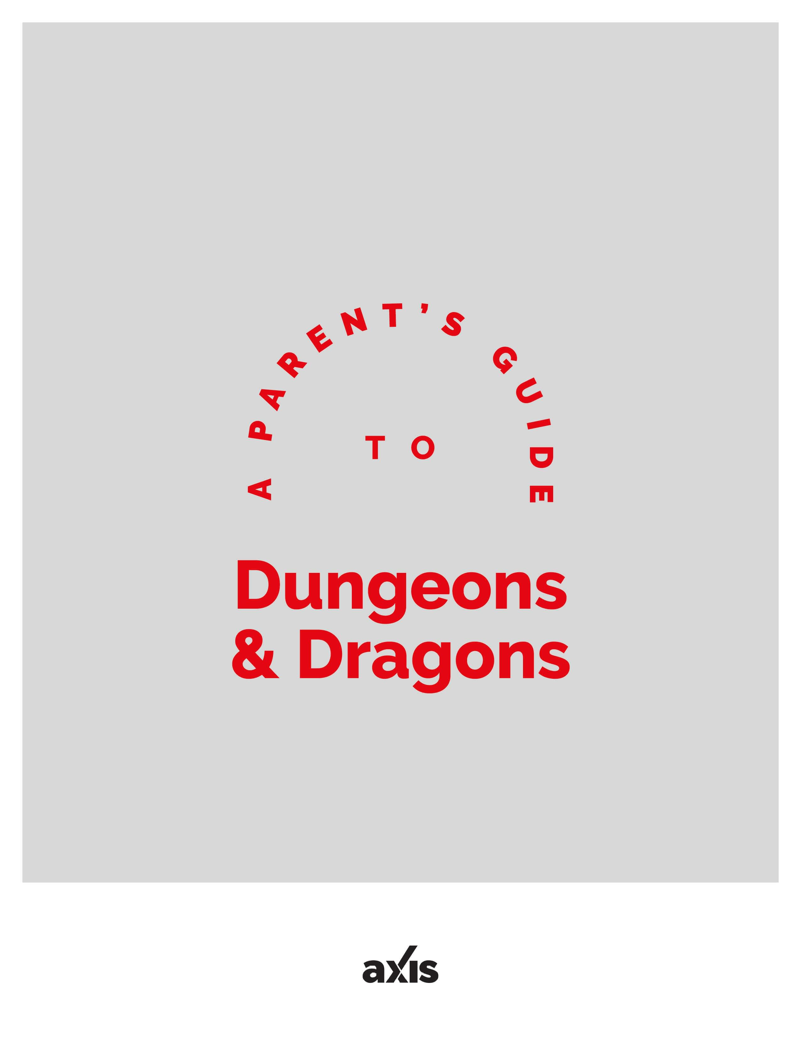 A Parent's Guide to Dungeons & Dragons