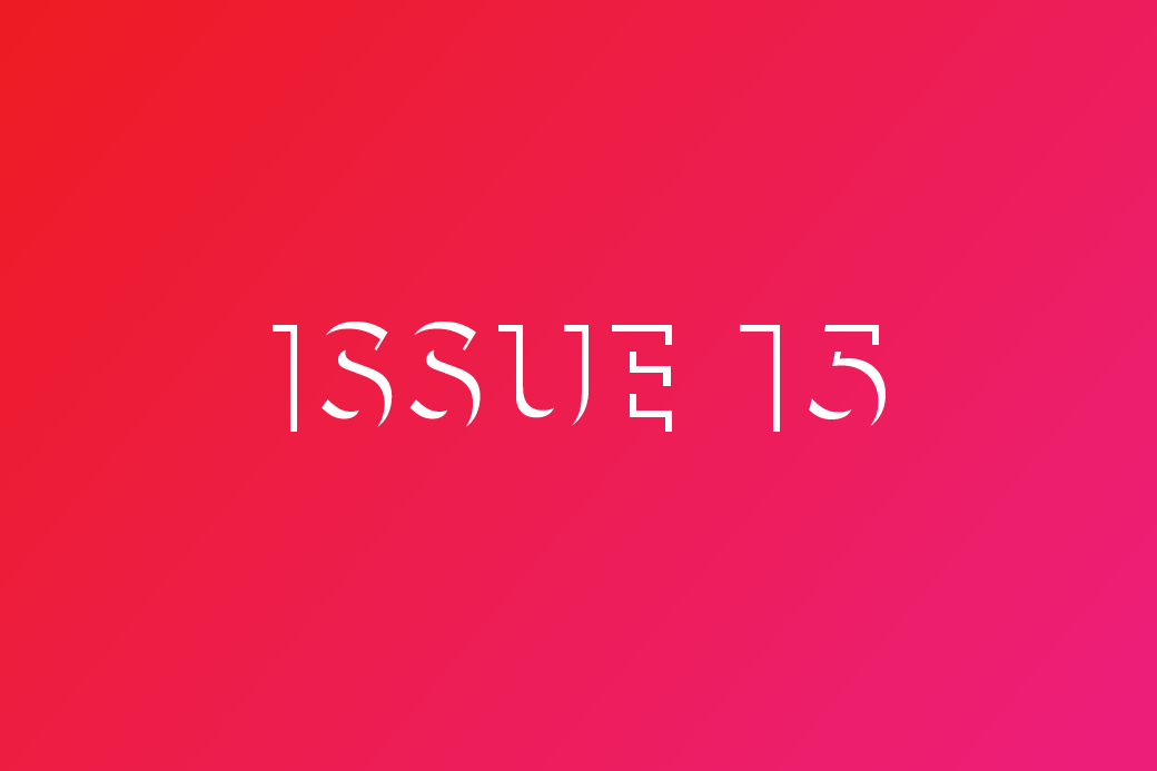 Issue 15 | May 15, 2015