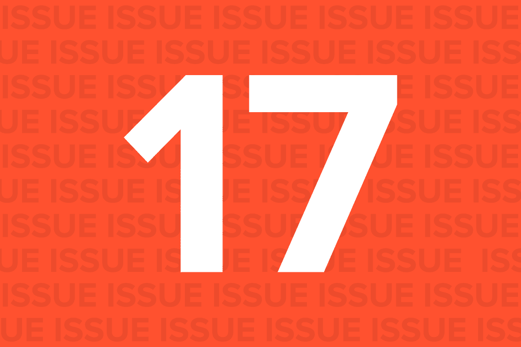 Issue 17 | May 29, 2015