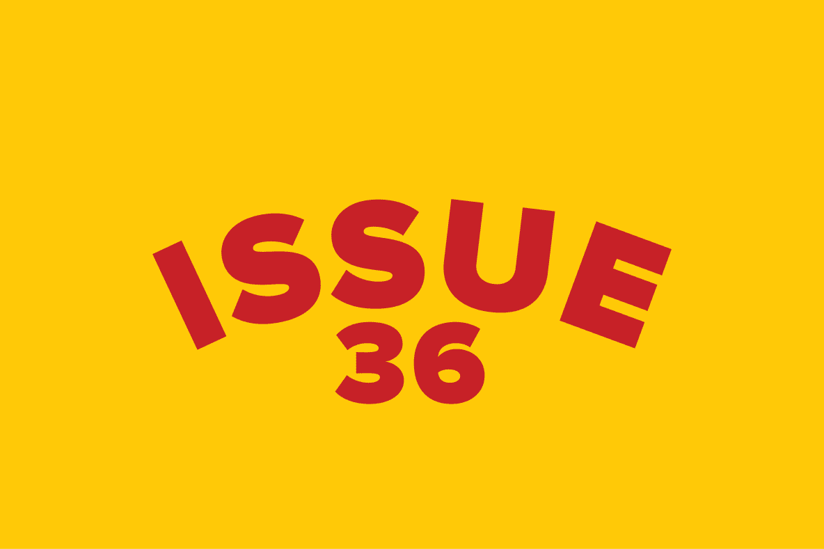 Issue 36 | October 16, 2015